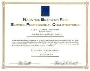 National Board On Fire Service Professional Qualifications