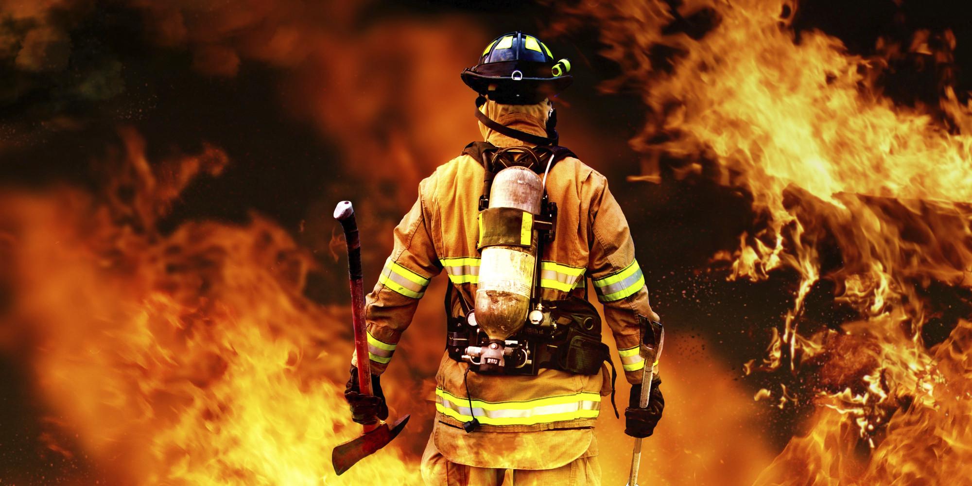 الغاز المستعمل في اطفاء الحرائق
